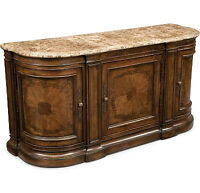 Luxury Dining Table + Sideboard (Marble Top)