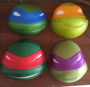 4 x light up ninja turtle heads Henley Brook Swan Area Preview