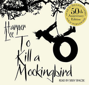 To-Kill-A-Mockingbird-50th-Anniversary-edition-Harper-Lee-Audio-CD-Book-NEW