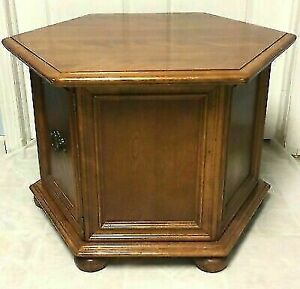 LOOKING for a Vintage Hexagonal-Shaped End Table