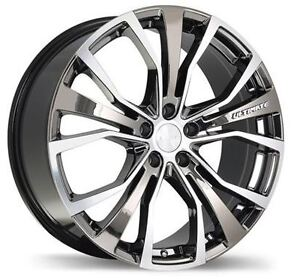"Mag Jante Roue 18""x8.5"" bolt pattern 5x114.3mm Chrome / Machined"