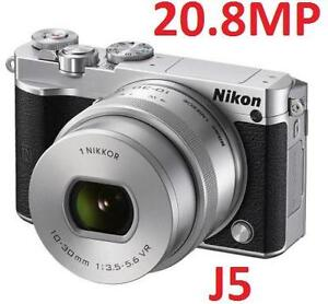 NEW NIKON 1 J5 20MP DIGITAL CAMERA - 120984680 - Electronics  Camera Photo  Video Digital Cameras  Compact System Cam...