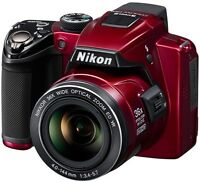 Nikon COOLPIX P500 Camera w/ 36x Wide Zoom and Full HD Video