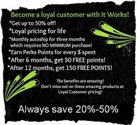 it Works! Wraps on sale!!