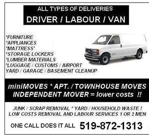 miniMOVES - DELIVERY - Removals.. ??   519-872-1313 London Ontario image 2