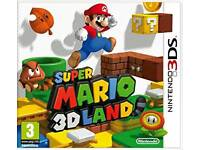 Wanted Nintendo 3DS games Mario, Zelda, Luigi