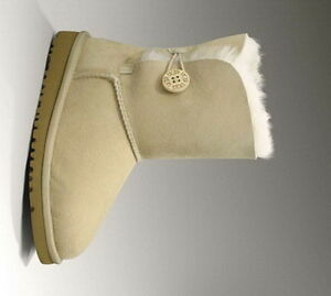 Sand UGG Bailey Button 5991 Kids