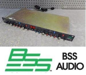 USED BSS 2CH COMPRESSOR/LIMITER Compressor / Peak Limiter / De-esser Dynamics Processing 107423898