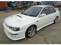Subaru wrx import 360+hp very quick
