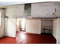 WORKSHOP AVAILABLE TO RENT FOR MANY USES - £1400pm