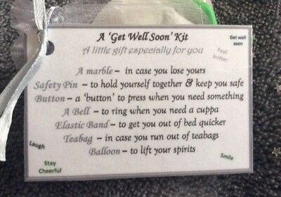 Cheap Novelty Gifts (Cheap Novelty get well soon speedy recovery thinking of you gift for him her)