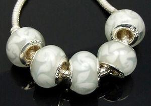 10-lampwork-murano-glass-Bead-Fit-charm-Bracelet-b088-1
