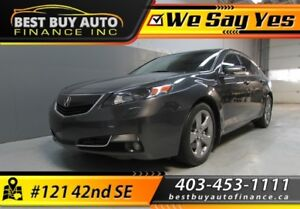 2013 Acura TL 6-Speed AT Sh-Awd With Tech Package $169/Bi-weekly