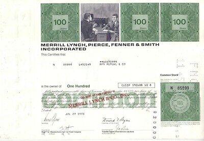 Merrill Lynch, Pierce, Fenner & Smith Inc  1973