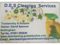 Domestic cleaner required.
