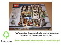LEGOS 10185 GREEN GROCER CREATOR -- Read the ad description before replying!!