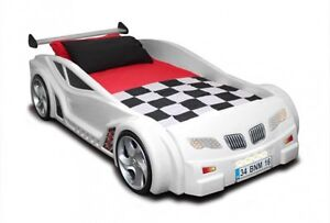 Fast Car Beds M Sport Coupe BMW White Children Racing Home Bedroom Kid Furniture