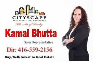 Want to Sell your Property in GTA/Peel/Halton Call Kamal Bhutta