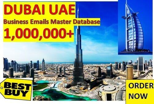 Dubai Business Email Lists, Dubai Email Database, Dubai B2B Emails, Dubai B2C