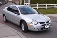 Mint 2003 Dodge SX 2.0 Neon Sedan!