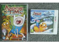 3DS Adventure Time Game: The Secret of the Nameless Kingdom and DVD.