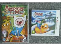 3DS Adventure Time: The Secret of the Nameless Kingdom game and DVD.