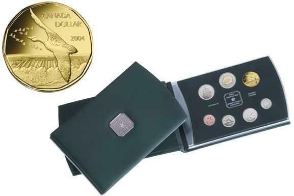 Canada 2004 Canada Goose Specimen Set (7 Coin)