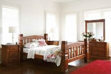 Solid NZ wood bedroom collection - Single/Double/Queen/King Salisbury Brisbane South West Preview