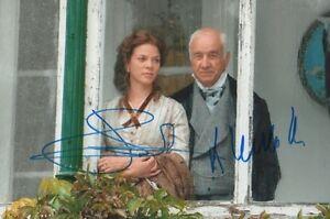 Armin Müller-Stahl & Jessica Schwarz Autogramme signed 20x30 cm Bild