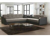 BRAND NEW FUTURO CORNER SOFABED (NEXT DAY DELIVERY AVAILABLE)
