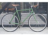 Brand new Hackney Classic single speed fixed gear fixie bike/road bike/ bicycles dc4gg6