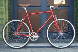 Brand new Hackney Club single speed fixed gear fixie bike/ road bike/ bicycles + 1year warranty lllp
