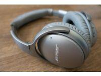 Bose quiet comfort 35 silver. Qc35 headphones