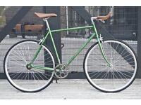 Brand new Hackney Club single speed fixed gear fixie bike/ road bike/ bicycles + 1year warranty qq4