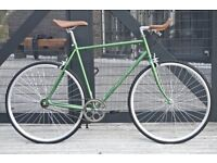 Brand new Hackney Club single speed fixed gear fixie bike/ road bike/ bicycles + 1year warranty ooo1