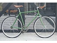 Brand new Hackney Club single speed fixed gear fixie bike/ road bike/ bicycles + 1year warranty aaaw