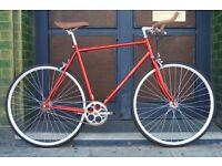 Brand new Hackney Club single speed fixed gear fixie bike/ road bike/ bicycles + 1year warranty ss1