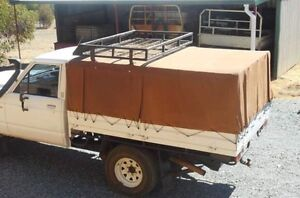 Steel frame Canopy and roof rack for GQ patrol ute Cooloongup Rockingham Area Preview