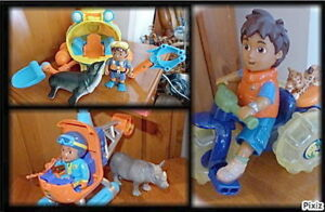 Diego - Sous-Marin - Hélicoptère - Tricycle - Lot 3 jeux : 25$