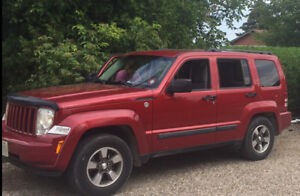 2008 Jeep Liberty 4x4 Safetied    250000kms