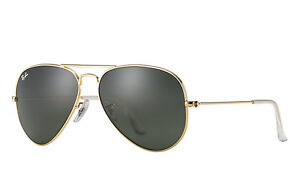 authentique ray ban aviator 3025 neuf / brand new