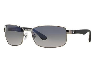 Ray Ban RB3478 Gunmetal Black Frame Blue / Grey Gradient 60mm Lens Sunglasses