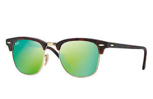 SELLING RAYBAN 3016 CLUBMASTER SUNGLASSES - GREEN FLASH