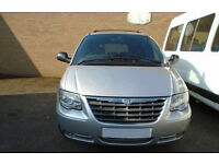 2007 07 CHRYSLER GRAND VOYAGER EXECUTIVE 2.8 AUTO DIESEL / STOW N GO / 176K MILES / 4 OWNERS / LWB
