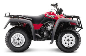 wanted 2001 Suzuki Quadrunner 500 front differential