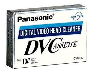 Panasonic-Mini-DV-Head-Cleaner-Cassette-Camcorder-Brand-New-Tape