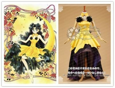Sailor Moon Princess Luna Magical Night Luxury Party Dress Halloween Uniform (Luna Sailor Moon Halloween)