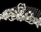 Pearl Bridal Hair Tiaras