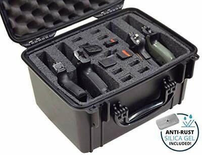 Case Club Waterproof Universal 4 Pistol Case with Silica Gel