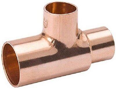 12 Ea 1 X 1 X 34 Copper Tee Plumbing Fittings